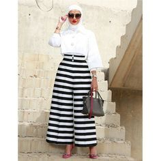 Best Culotte Pant Hijab Outfit Ideas for Muslim Girls – Girls Hijab Style & Hi. Best Culotte Pant Hijab Outfit Ideas for Muslim Girls – Girls Hijab Style & Hi… – Best Culot Street Hijab Fashion, Muslim Fashion, Modest Fashion, Fashion Outfits, Fashion Ideas, Girl Hijab, Hijab Outfit, Modele Hijab, Hijab Fashionista