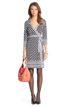 Tallulah Silk Jersey Wrap Dress