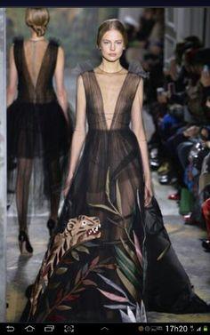 Long beautiful dress