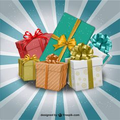 """How to choose a 'right' birthday gift for your friend?     Image Source: <a href=""""http://www.freepik.com/free-photos-vectors/christmas"""">Christmas vector designed by Freepik</a>"""
