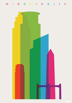 Yoni Alter- Shapes of Cities: Shapes of Minneapolis (link includes lots of other cities)