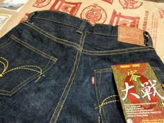 SAMURAI Jeans a Japanese Brand from Osaka, founded in 1997, Osaka based Samurai Jeans has already managed to establish itself as an unwashed selvage denim producer for connoisseurs. The company sells simple but stylish jeans of extremely high quality that are often sold in limited editions... SAMURAI Jeans: http://s2u.co/e415 ★★★★★ #サムライジーンズ #MadeInJapan #LoveJapan