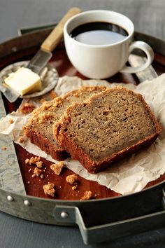 The Best Banana Bread from @Jamie Wise Wise {My Baking Addiction} - I've never put this many bananas into one loaf of banana bread, but I don't think I'll do it any other way now!!  And this crumb topping totally makes the bread - don't skip it.  I may have to agree that this is the best banana bread!