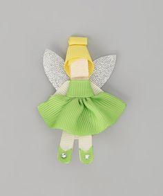 Take a look at this Green Fairy Clip by Couture Hair Bows & Bows for a Princess on #zulily today!