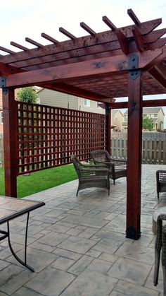 The pergola you choose will probably set the tone for your outdoor living space, so you will want to choose a pergola that matches your personal style as closely as possible. The style and design of your PerGola are based on personal Wooden Pergola Kits, Building A Pergola, Outdoor Pergola, Backyard Pergola, Pergola Shade, Backyard Landscaping, Gazebo, Backyard Pavilion, Wood Pergola