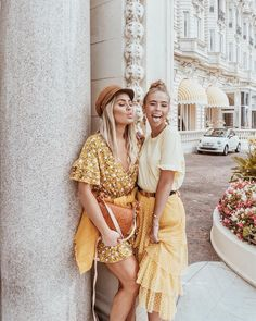 Yellow Outfits for Spring 2018 | Women and Teen Fashion @EarthBodyMindSoul