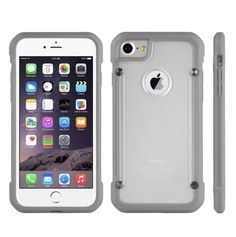 Our latest and greatest. IPHONE 7 FULL BOD... Browse our latest collection. http://jandjcases.com/products/iphone-7-full-body-hybrid-transparent-bumper-case-gray?utm_campaign=social_autopilot&utm_source=pin&utm_medium=pin