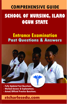 Ogun State School of Nursing, Ilaro Past Question and Answer Entrance Examination - Click to Download Past Questions, This Or That Questions, State School, Midwifery, Question And Answer, Nursing, Entrance, Entryway, Door Entry