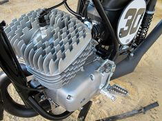 porcupine motorcycle engine cylinder and head