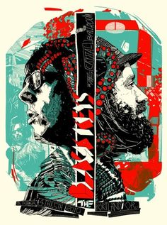The Black Keys poster by Tyler Stout........... Oh my, I have no words.....