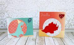 Custom Flocked Cards: The Easy Way! - Morena's Corner