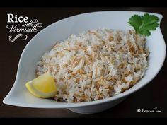 Rice with Vermicelli (Bariis Shaciiriyo Leh) Riz aux Vermicelles أرز بالشعيرية | Xawaash.com