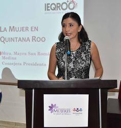 Periodismo sin Censura: IEQROO, RECONOCE EL PAPEL QUE JUEGAN LAS MUJERES E...