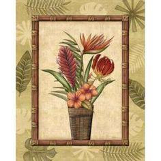 Paradisio Bouquet II Canvas Art - Charlene Audrey (24 x 30)