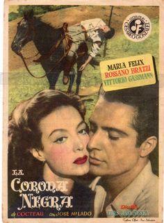 LA Coraza Negra Maria Felix CON Publicidad 1951 MUY Bueno | eBay