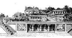 Ogrody semiramidy - Hanging Gardens of Babylon - Wikipedia, the free encyclopedia