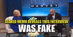 Hillary Provided With Questions, Pre-Interview, On Steve Harvey TV Talk Show (VIDEO)