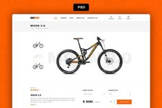 Bikehop-PSD downlad by Marek Leschinger on @creativemarket