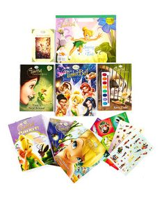Look at this #zulilyfind! Tinker Bell Activity & Paperback Set by Disney #zulilyfinds