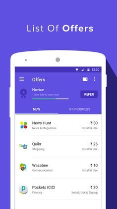 Linkedin - Android material design | User Interfaces | Android