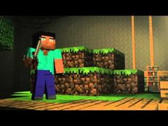 Cube Land - A Minecraft Music Video Song Music Video Song, Music Videos, Minecraft Songs, Minecraft Wallpaper, Original Song, 8th Birthday, Fun Games, My Music, Posts