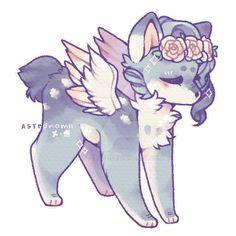 Cute Kawaii Animals, Cute Animal Drawings Kawaii, Cute Cartoon Drawings, Cartoon Art Styles, Cute Fantasy Creatures, Mythical Creatures Art, Cute Creatures, Dessin Old School, Creature Drawings