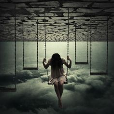swinging in the clouds, I like the sound of that.