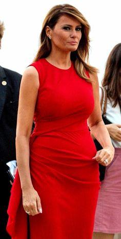 FLOTUS Melania Trump in Biarritz, France on August 25, 2019. 🇲🇫