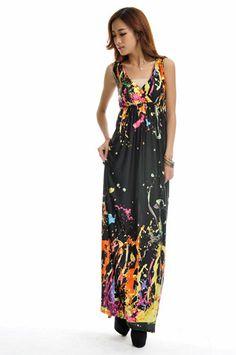 M-5XL summer style sexy women boho long dress beach maxi dress plus size floral print dress for women vestidos longo