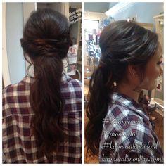 Prom 2016! Hair by Jennie at Karma Salon & Spa.
