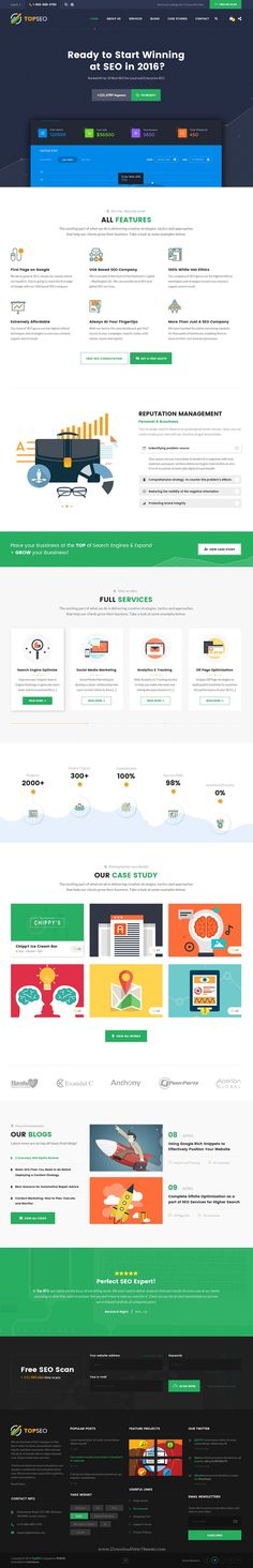 Marketing - Multipurpose Business, SEO, Agency Template Cleaning - seo plan template