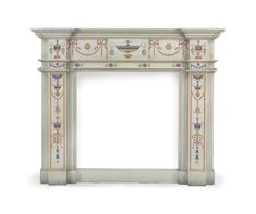 Scagliola has been a mystery outside the decorative arts realm. There are only few people who are familiar with the art of Scagliola, a fascinating. Fireplace Surrounds, Manners, White Marble, Mirror, Furniture, Lighting, Mantle, Fireplaces, Home Decor