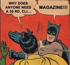 Batman it's not a clip!