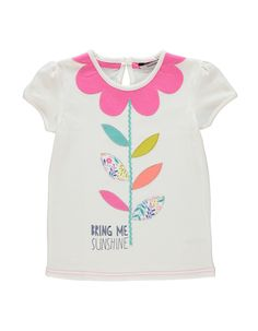 Flower Print T-shirt | Kids | George at ASDA