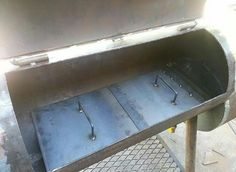 Reverse Flow Smoker / BBQ Pit Project - Lots of Pictures & Flat Mount Push Smoker door latch toggle clamp - 2 Pk | Smoker ...