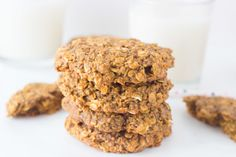 Oatmeal Chia Breakfast Cookies