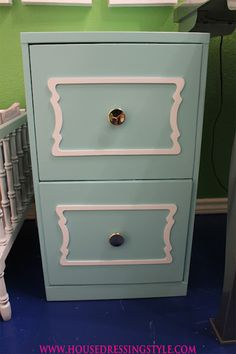 Re-do your old filing cabinet!