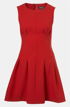 #Topshop Seamed Waist Party Dress #Nordstrom
