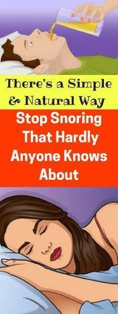 There's a Simple And Natural Way To Stop Snoring That Hardly Anyone Knows About