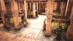 Post with 5330 views. Homework Planner, Conan Exiles, Throne Room, African Culture, Concept, Landscape, Building, Swords, Videogames