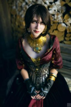 """A Stunning Morrigan From """"Dragon Age: Inquisition"""" [Cosplay]"""
