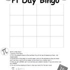 $1.00 This Pi Day game has simple geometry problems that involve Pi and a few fun facts about Pi. Students will receive a Bingo handout and will be prese...