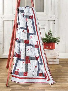 A Cardinal Winter Quilt Kit from Annie's Craft Store. Order here: https://www.anniescatalog.com/detail.html?prod_id=131380&cat_id=1644
