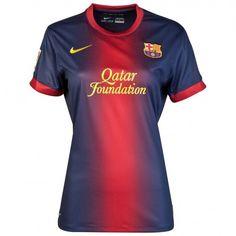 8074b043a1f cheap Barcelona Home Women Soccer Jersey Shirt Replica