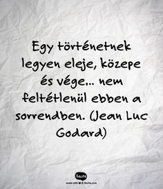 Jean Luc Godard-idezet