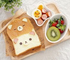 Think Food, I Love Food, Good Food, Yummy Food, Japanese Food Art, Cute Baking, Kawaii Dessert, Cute Desserts, Food Decoration