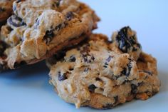Jessica Seinfeld's Chocolate Chip chickpea cookies...These are my daughter Monique's and my favorite cookies!
