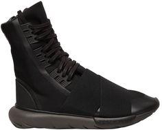 Y-3 Qasa Boot Nylon High Top Sneakers High Top Sneakers dd938b1db2c