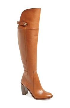 Louise et Cie 'Navaria' Over the Knee Leather Boot (Women) | Nordstrom $289