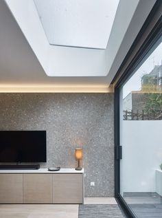The Perf House design was driven by clients who's brief was to bring some of the light quality and openness of their native Sardinia to central London. Bathtub, House Design, London, Living Room, Lighting, Architecture, Pictures, Interiors, Gallery
